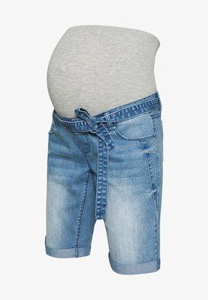 MLNATAL COMFY - Jeansshort - light blue denim