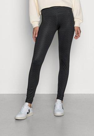 Leggings - Trousers - pitch black