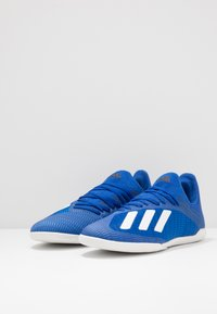 adidas Performance - Indoor football boots - royal blue/footwear white/core black - 3