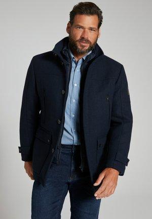 Grandes tailles  , déperlante, empiè - Light jacket - bleu marine foncé
