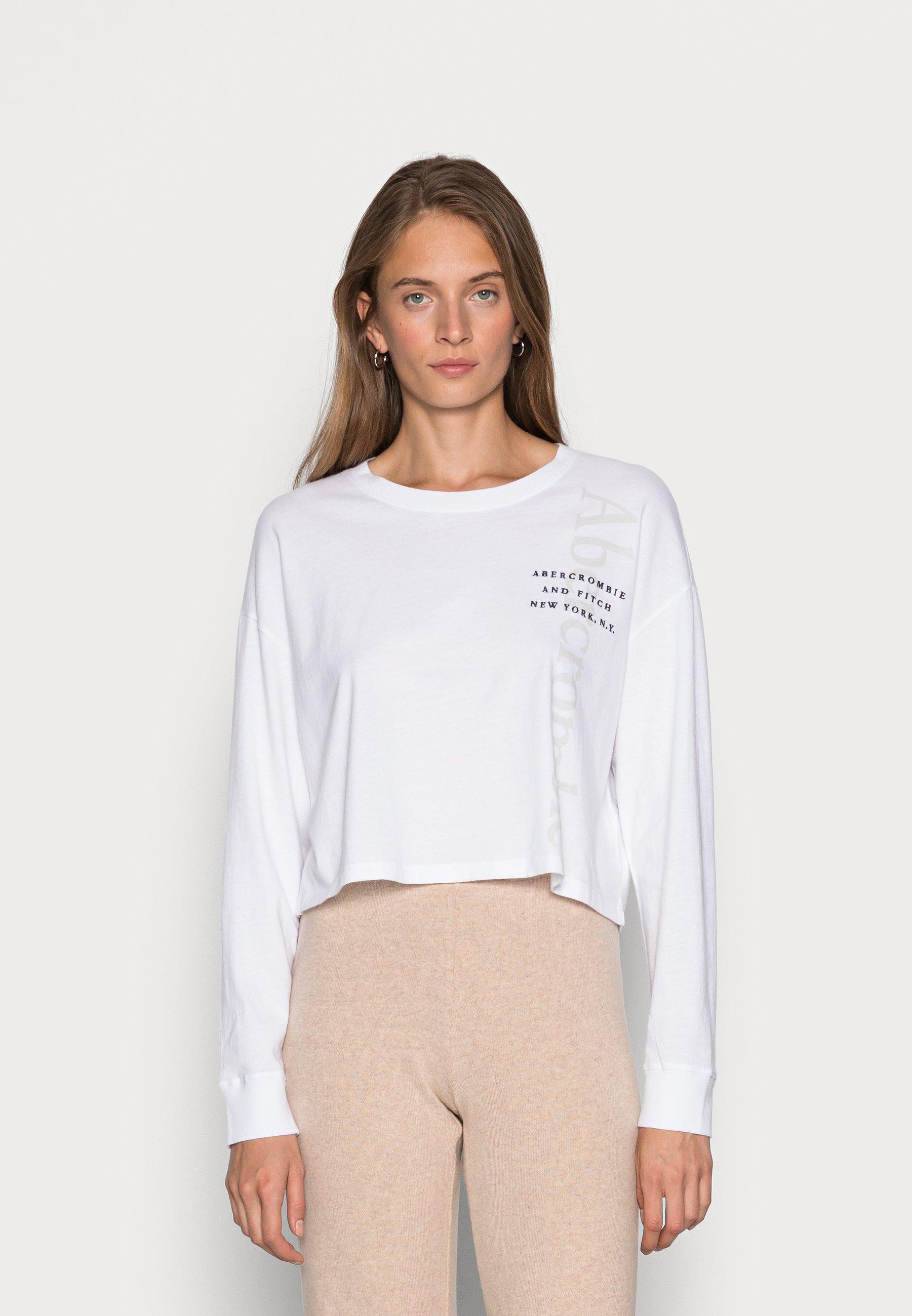 Women APAC CROPPED LOGO TEE - Long sleeved top