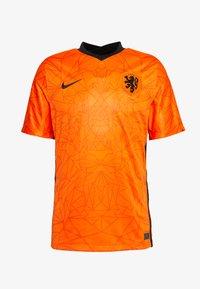 Nike Performance - NIEDERLANDE KNVB HOME - Voetbalshirt - Land - safety orange/black - 4