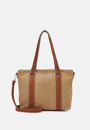 LUISA - Shopping bag - mixed cognac