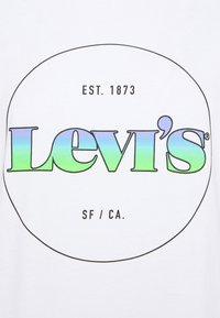 Levi's® - THE PERFECT TEE - T-shirt con stampa - gradient white - 6