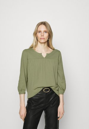 FAB MIX TEE - Long sleeved top - khaki