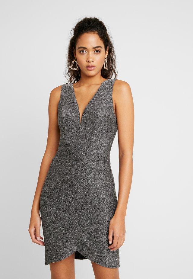 MINI DRESS - Jersey dress - black