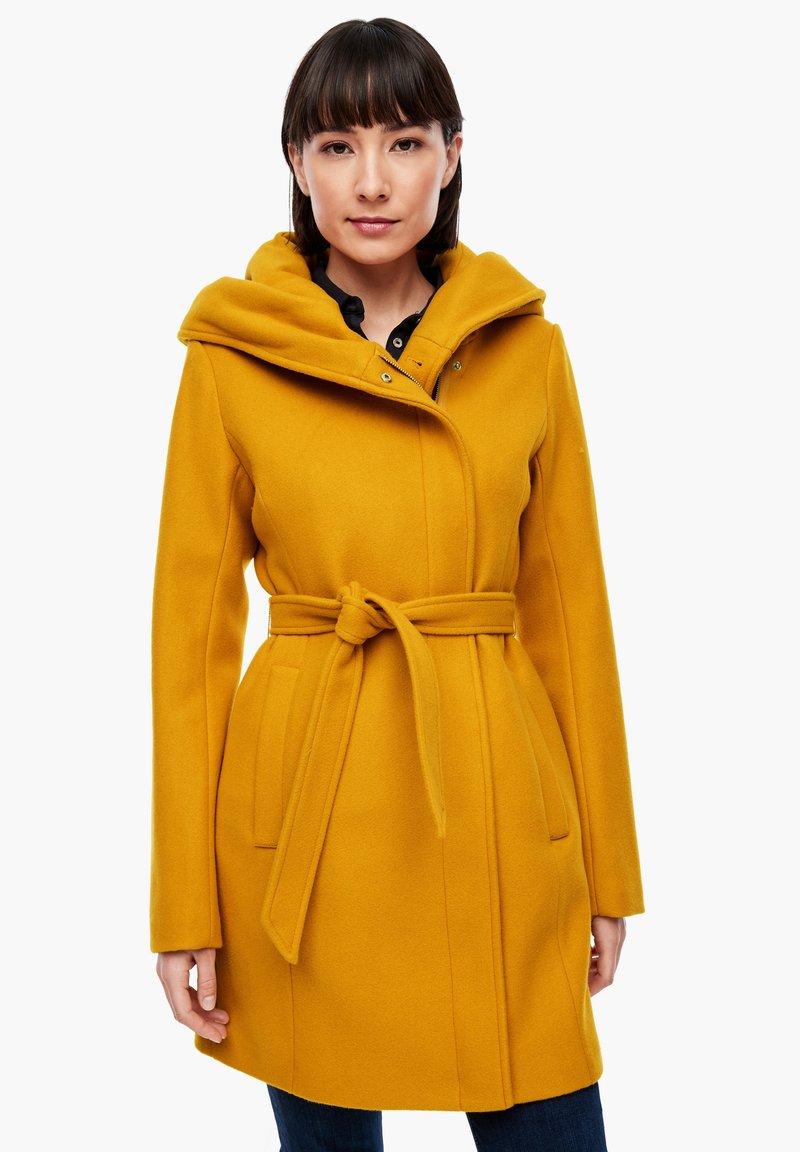 s.Oliver - Short coat - yellow