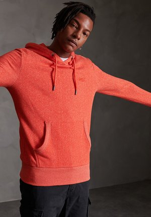 ORANGE LABEL - Hoodie - grenadine birdseye