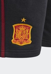 adidas Performance - FEF SPANIEN SHORT UNISEX - Oblečení národního týmu - black - 2