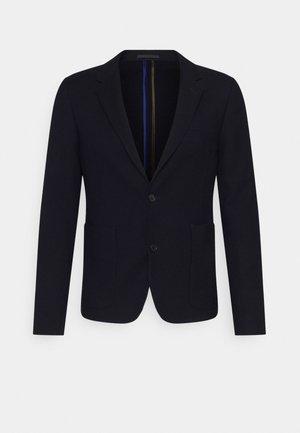 MENS JACKET UNLINED - Blazer jacket - dark blue