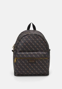 Guess - VEZZOLA BACKPACK UNISEX - Batoh - dark brown - 0