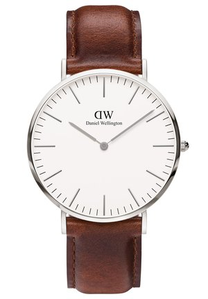 CLASSIC ST MAWES 36MM - Watch - silberfarben/braun