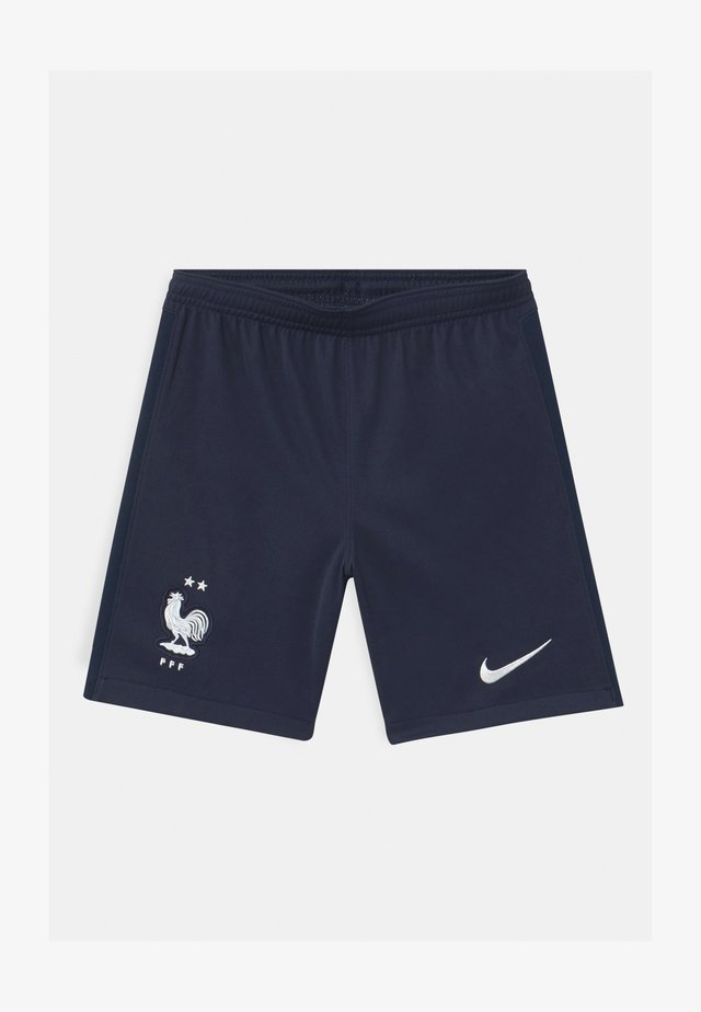 FRANKREICH UNISEX - Short de sport - blackened blue/white