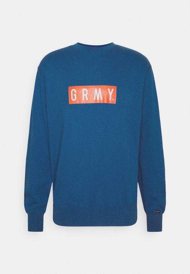STEEZ CREWNECK UNISEX - Sweatshirt - blue