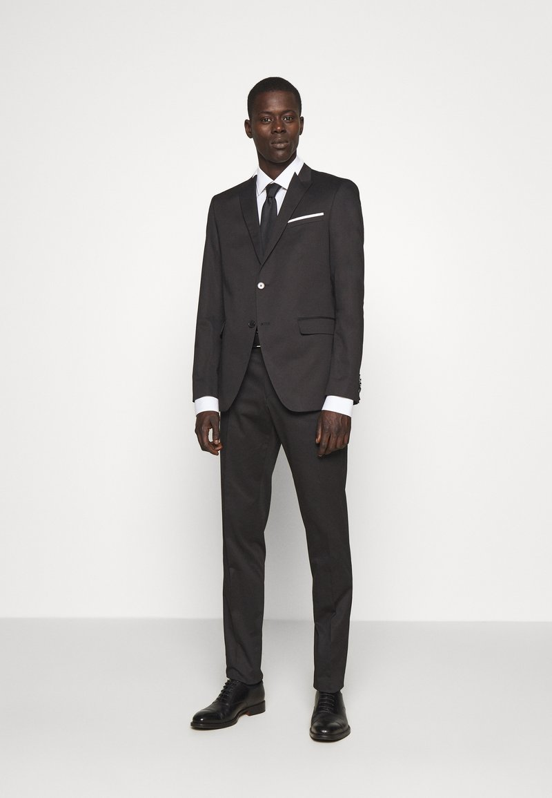 KARL LAGERFELD - SUIT VIBRANT - Completo - black