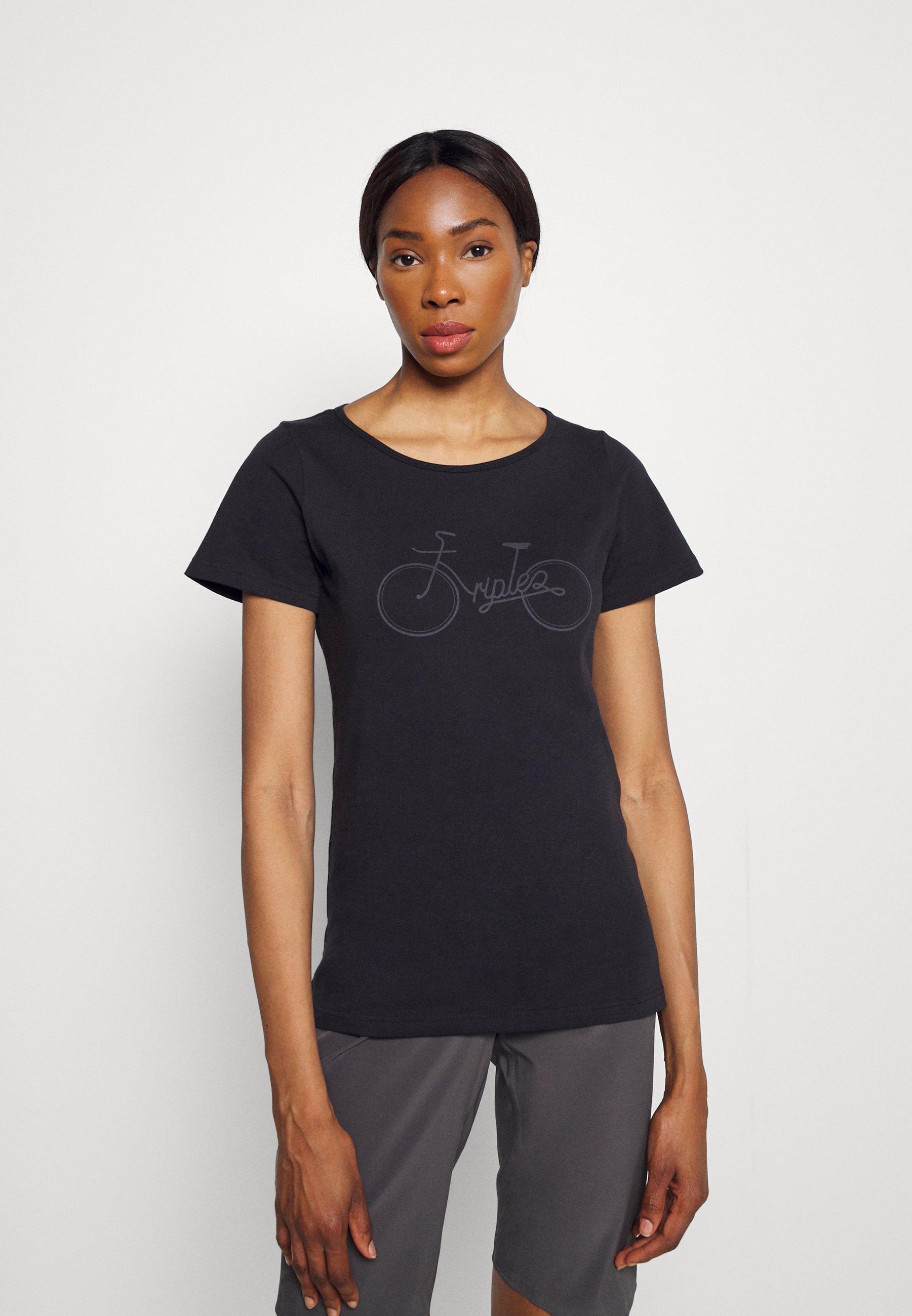Femme TUUR EEN BIKE - T-shirt imprimé