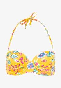 JASMINE BEACH PAD BRA - Bikini top - sunflower yellow