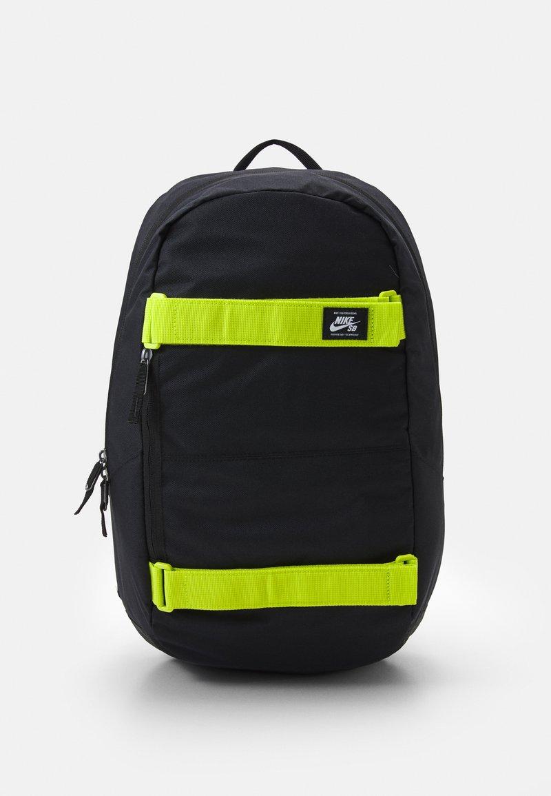 Nike Sportswear - COURTHOUSE - Rucksack - black/cyber/white