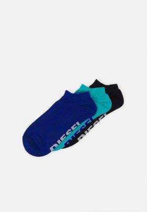 SKM-GOST-THREEPACK 3 PACK - Socks - black/blue/turquoise