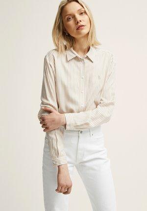 Paitapusero - beige stripe