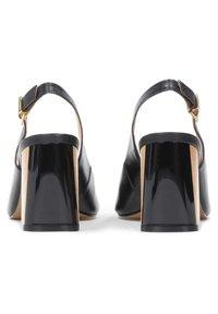 Kazar - Peep toes - black - 2