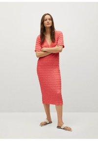 Mango - SPRING-H - Day dress - pink - 1