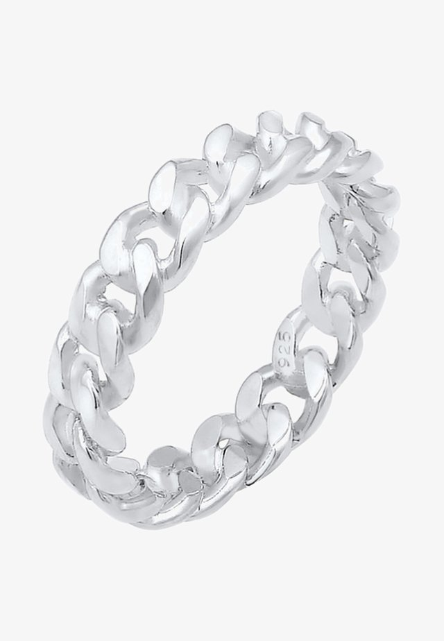 KNOTEN UNENDLICH TWISTED COOL - Ringe - silver coloured