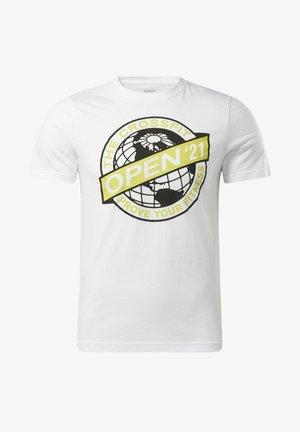 RC 2021 OPEN TEE - T-shirts print - white