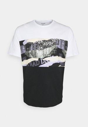 JORALLMIND TEE CREW NECK - Print T-shirt - white