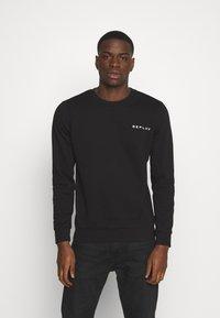 Replay - CREW NECK - Sweatshirt - black - 0