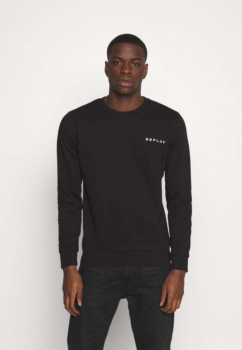 Replay - CREW NECK - Sweatshirt - black