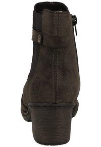 Rieker - Korte laarzen - anthracite/black - 3