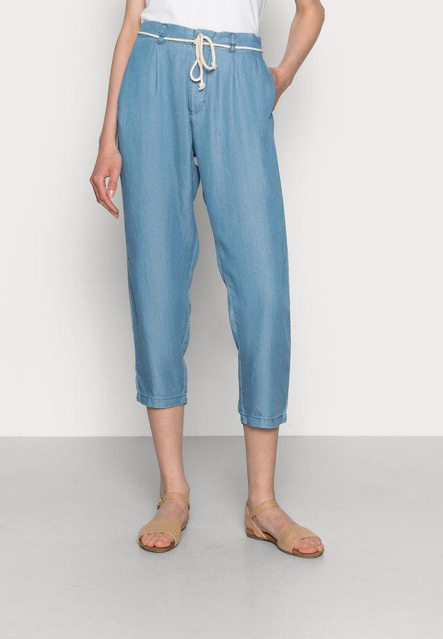 Pantalones - medium blue