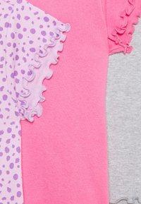 Friboo - 3 PACK - Basic T-shirt - purple/grey/pink - 3