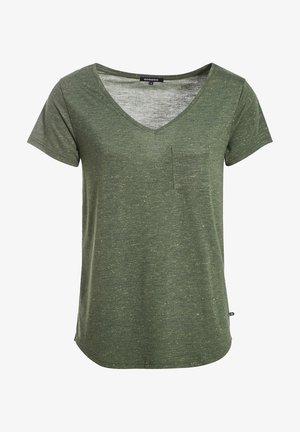 Camiseta básica - vert kaki