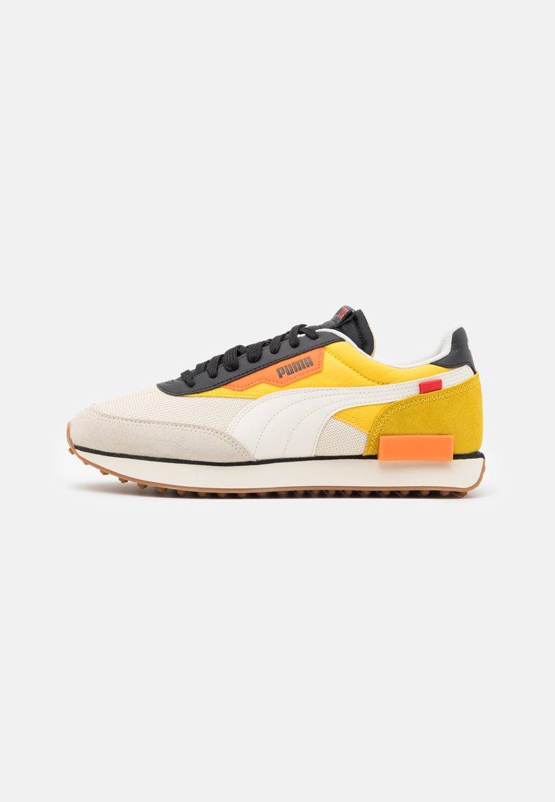 Puma - FUTURE RIDER NEW TONES UNISEX - Sneakers basse - whisper white/super lemon