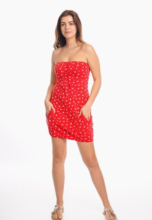 ANTJE - Day dress - red