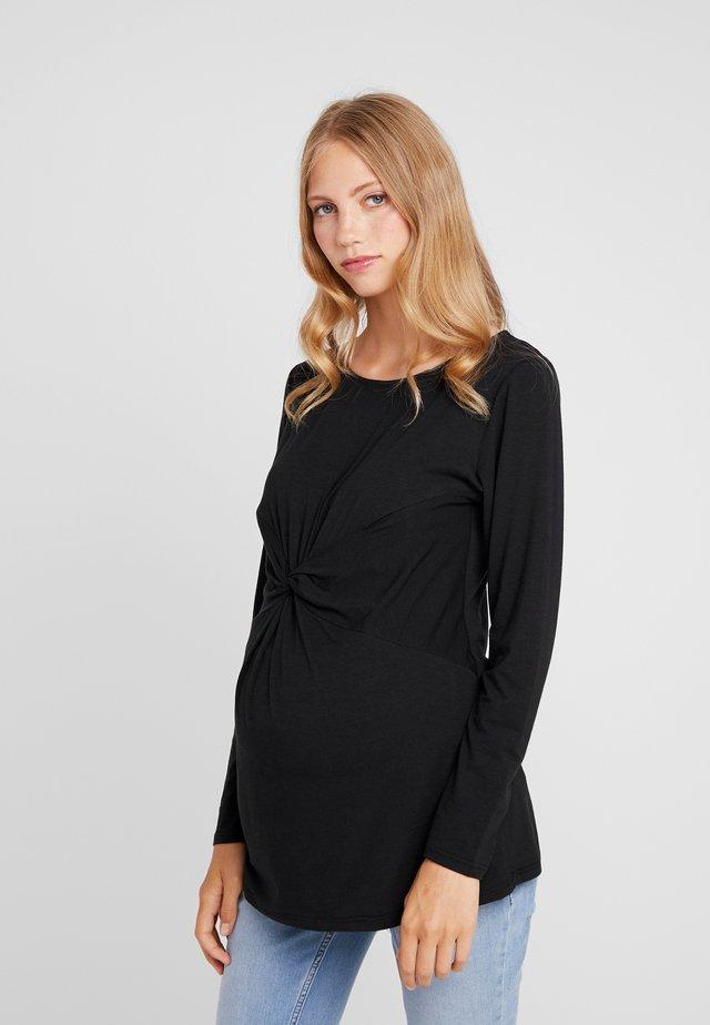 DARBY TEE - Långärmad tröja - black