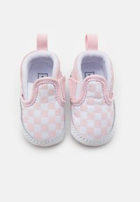 Vans - SLIP-ON V CRIB - Obuwie do raczkowania  - blushing bride/true white - 3