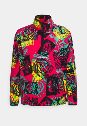 Fleece jumper - multicolor