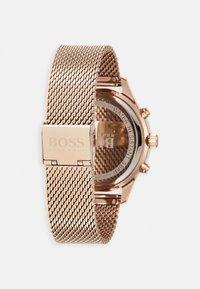 BOSS - ASSOCIATE - Chronograph watch - rose gold-coloured - 1
