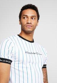Kings Will Dream - CLIFTON - T-shirts med print - white/cobolt - 4