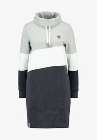edc by Esprit - COLORBLCK DRESS - Kjole - light grey - 5