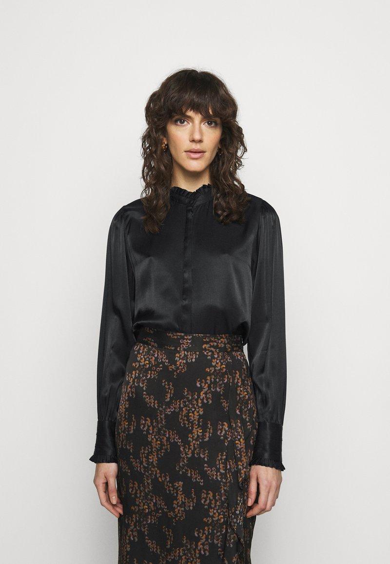 Bruuns Bazaar - BAUME ELIZABETH BLOUSE - Blouse - black