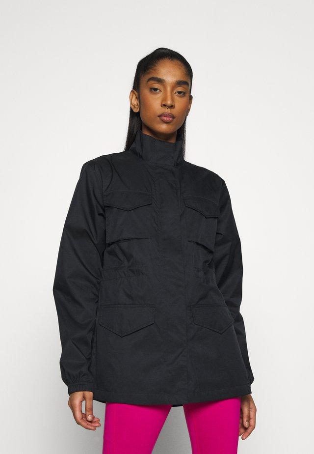 Summer jacket - black/iron grey