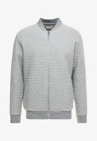 Bomberjacke - mottled grey