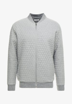 Bomber Jacket - mottled grey
