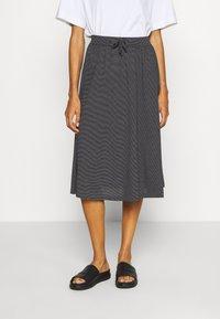 Opus - RENITA - A-line skirt - black - 0