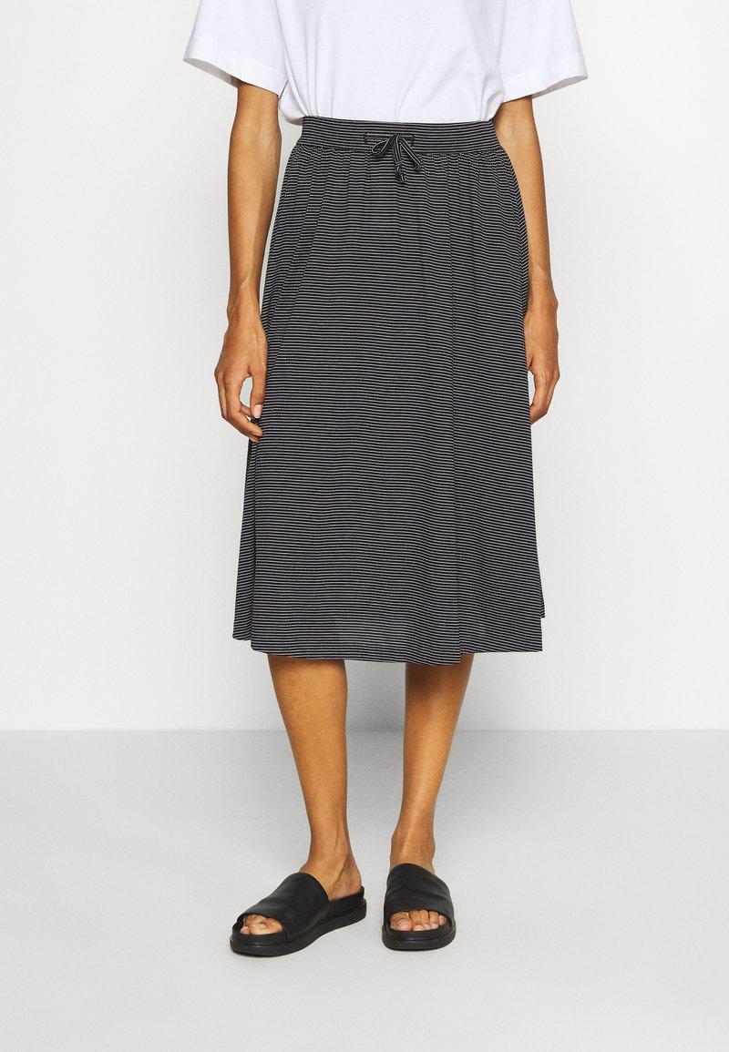 Opus - RENITA - A-line skirt - black