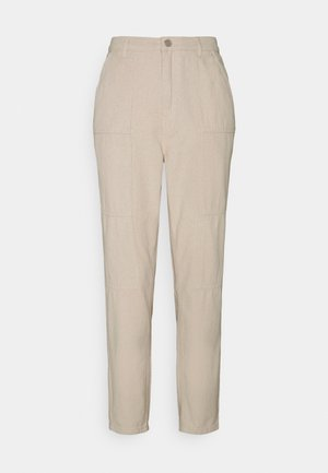 SEAMED WRATH - Straight leg jeans - cream
